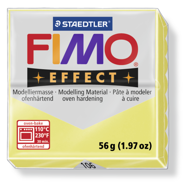 Fimo Effect citrín 56g