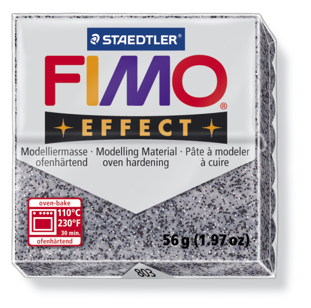 Fimo Effect granit 56g