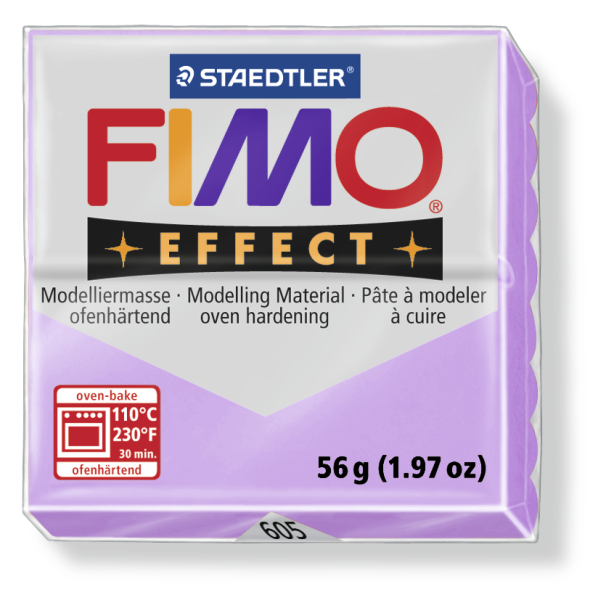 Fimo Effect pastel lila 56g