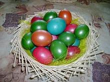 Velikonoční miska z pedigu